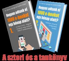 1000 e-bookot egy hónap alatt?
